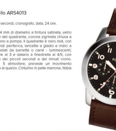 Cronografi al quarzo: Fossil Modello ARS4013