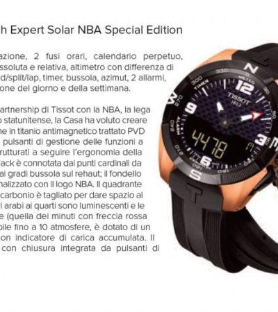 Orologi multifunzione: Tissot T-Touch Expert Solar NBA