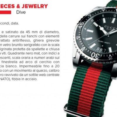 Orologi subacquei: Gucci Dive