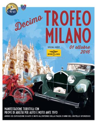 Breitling sponsor de Trofeo Milano