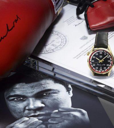TAG Heuer omaggio a Muhammad Ali