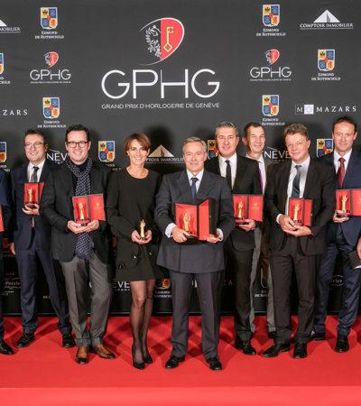 I vincitori del GRAND PRIX D'HORLOGERIE DE GENÈVE 2016