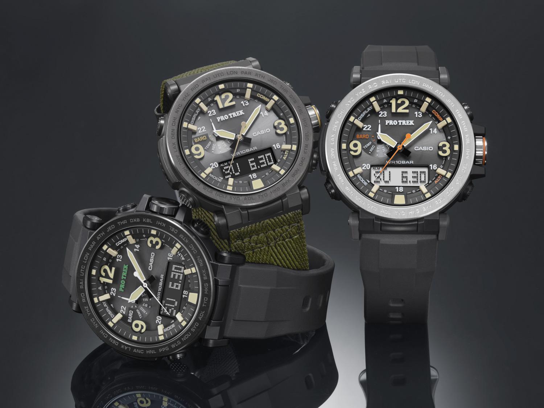 b0f15e8d027f Casio annuncia ufficialmente il lancio di tre nuovi modelli della linea di  orologi outdoor PRO TREK  i nuovissimi PRG-600Y