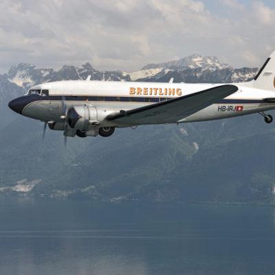 Il Breitling DC-3 fa il giro del mondo