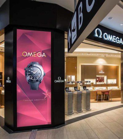 OMEGA inaugura la nuova boutique a Fiumicino