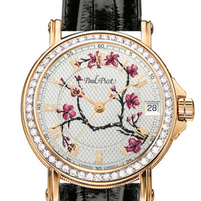 Paul Picot Dial Painting – Cherry Blossom