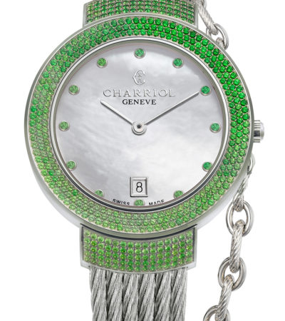 Anteprima Baselworld 2017: Charriol ST-TROPEZ GreenLight