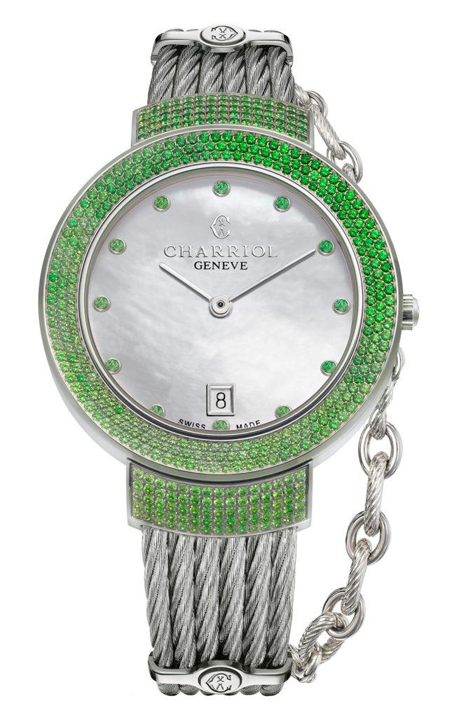 CHARRIOL Watch ST-TROPEZ GreenLight