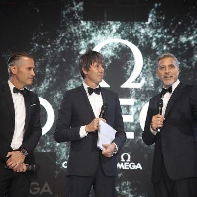 LOST IN SPACE – OMEGA e George Clooney per i 60 anni dello Speedmaster