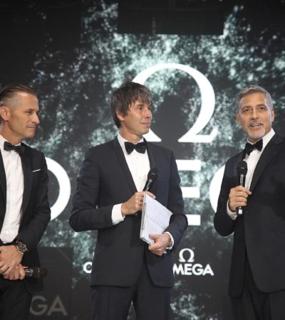 LOST IN SPACE – OMEGA e George Clooney per i 60 anni dello Speedmaster
