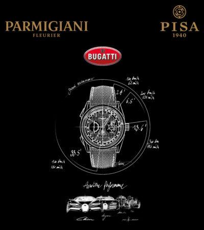 Parmigiani Fleurier e Bugatti in mostra presso Pisa Orologeria