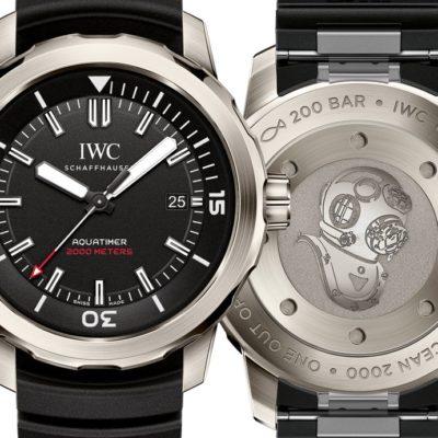 """IWC Aquatimer Automatic 2000 Edition """"35 Years Ocean 2000"""""""