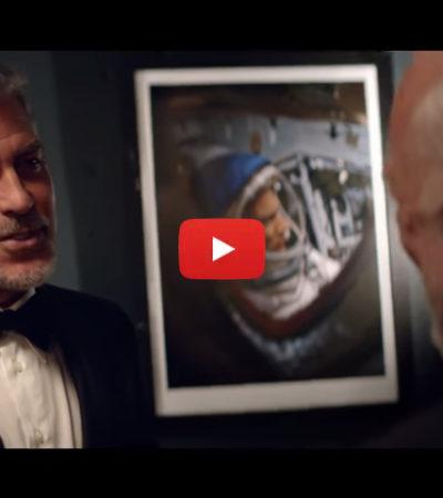 """Starmen"", George Clooney incontra Buzz Aldrin nel docu-film di OMEGA"