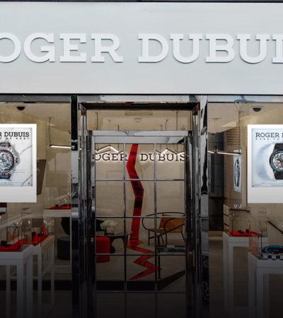 Roger Dubuis apre un pop up store monomarca a Los Angeles, Stati Uniti