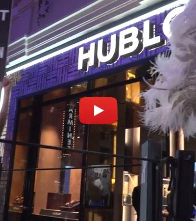 La nuova scintillante boutique Hublot a Las Vegas