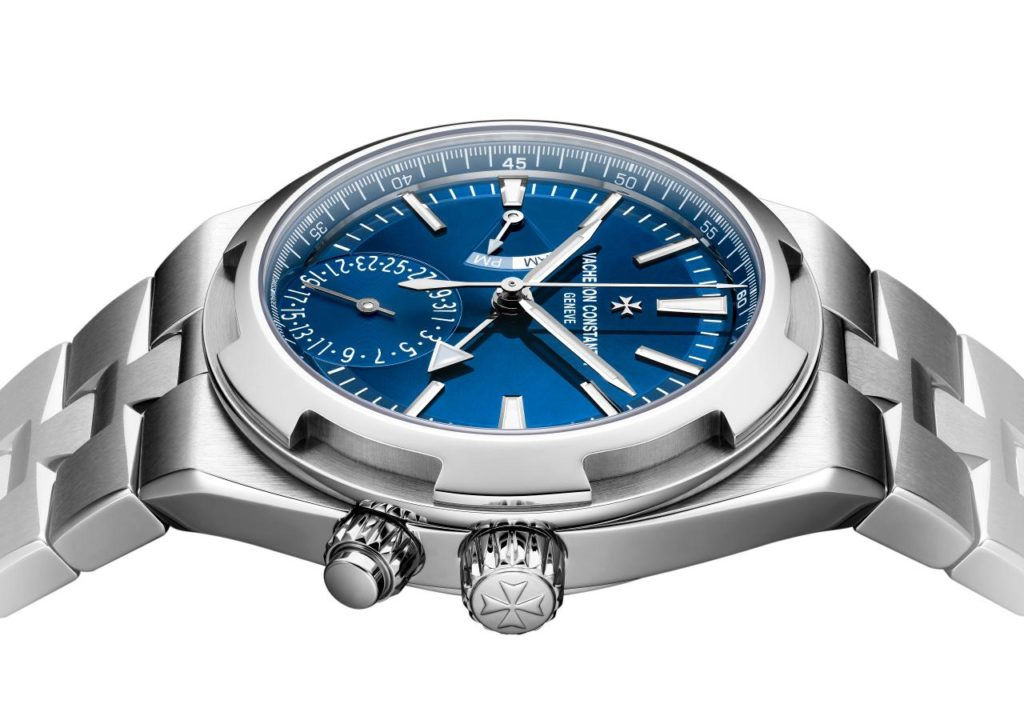 OVERSEAS DUAL TIME BLUE