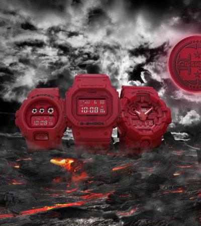 G-SHOCK lancia la collezione Red-Out