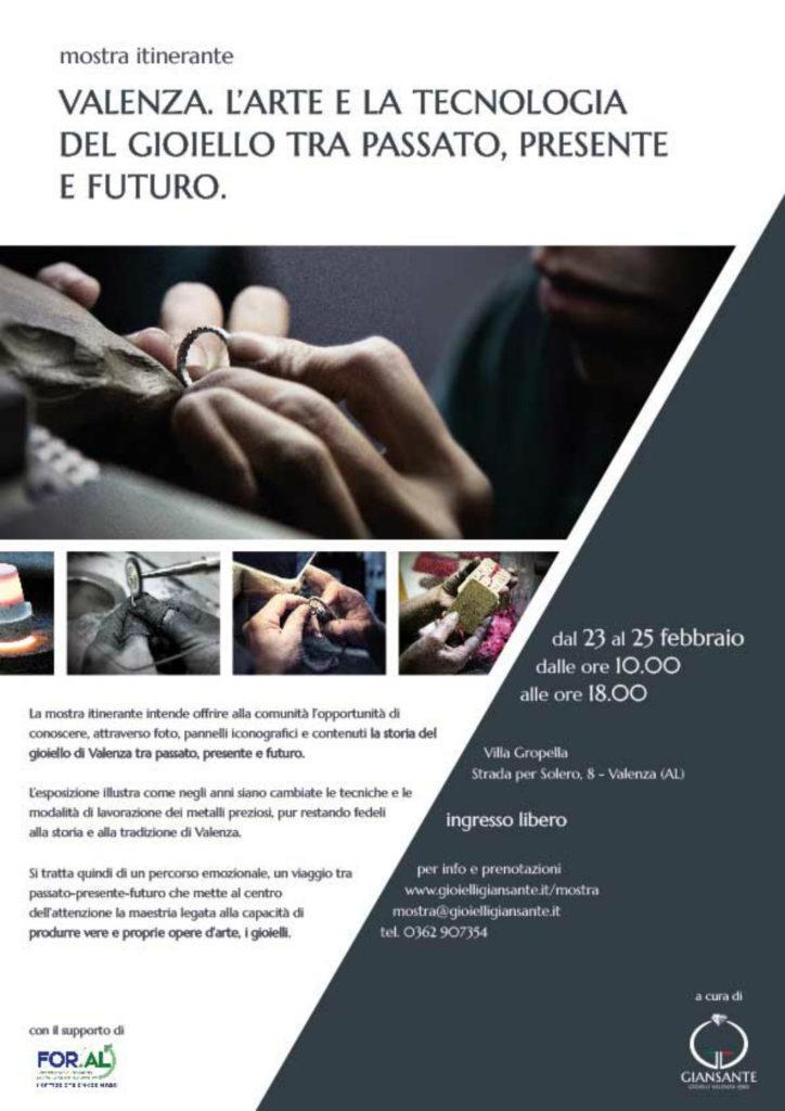 """In mostra a Valenza """"L'arte e la tecnologia del gioiello tra passato, presente e futuro"""