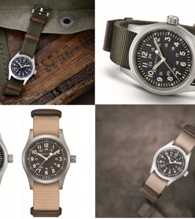 Nuovo Khaki Field Mechanical 38 mm per Hamilton