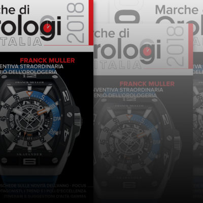 Dal 15 aprile in edicola il nuovo Annuario Marche di orologi in Italia