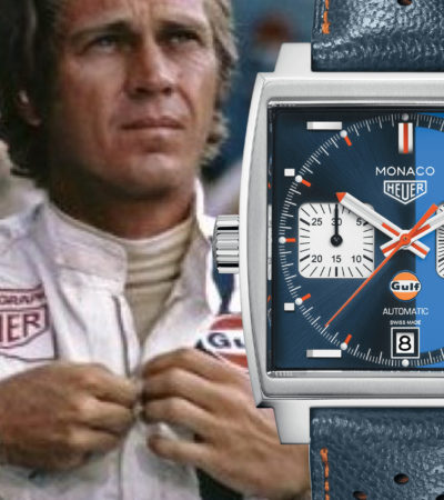 TAG Heuer & Gulf Oil International: una partnership a tutto colore