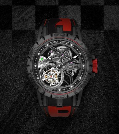 Roger Dubuis: Excalibur Spider Pirelli Tourbillon Volante Singolo
