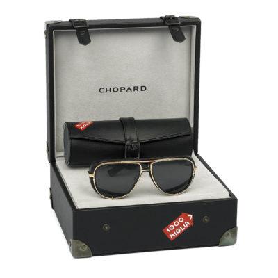 Gli occhiali da sole Chopard Mille Miglia 2018