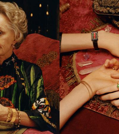 Gucci la nuova campagna pubblicitaria con Tippi Hedren