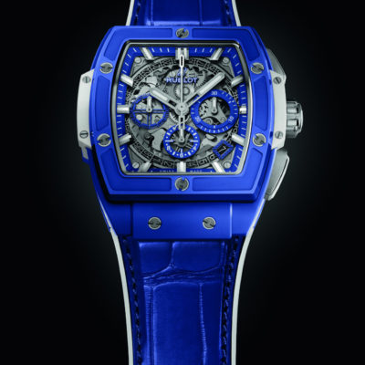 Hublot e il blu marino del nuovo Spirit of Big Bang Blue