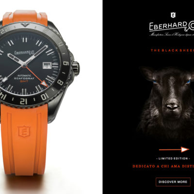 Eberhard  &  Co. presenta The Black Sheep