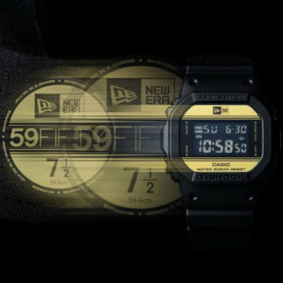 G-SHOCK presenta il nuovo collaboration model con NEW ERA