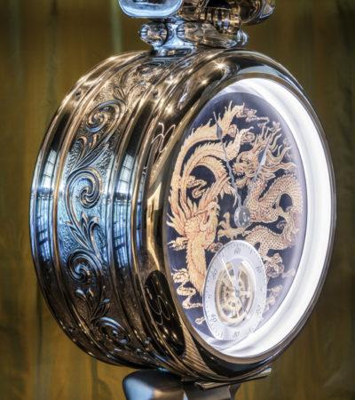 Premio A' Design Award per l'orologio Bovet installato nella Torre Asterium di Seul
