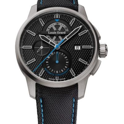 Anteprima VicenzaOro: Louis Erard con il nuovo cronografo 1931 di titanio