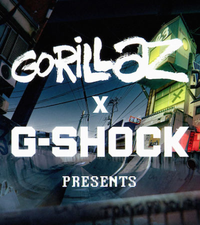 G-SHOCK annuncia la partnership con i Gorillaz