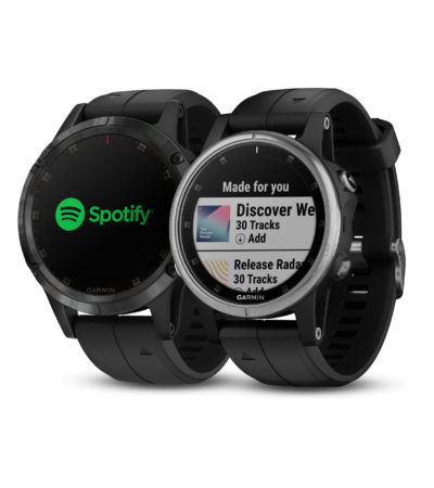 Garmin fēnix 5 Plus e Spotify