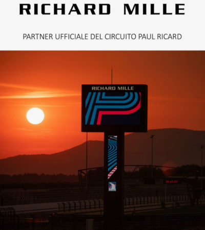 Richard Mille partner ufficiale del circuito Paul Ricard