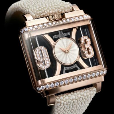 La Maison de GRISOGONO presenta la collezione di orologi NEW RETRO