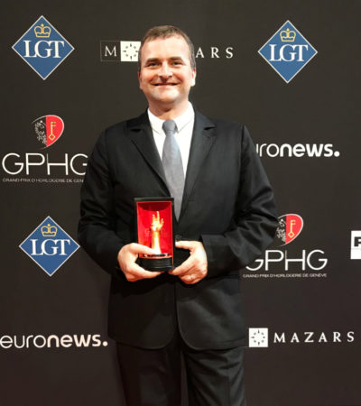 NOMOS Glashütte a Ginevra vince l'importante premio per l'orologeria GPHG