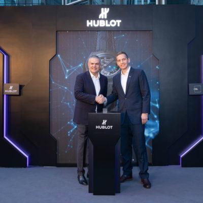 Hublot celebra i dieci anni del Bitcoin presentando il Big Bang Meca-10 P2P
