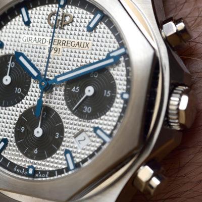Girard-Perregaux Laureato Cronografo – Prova al polso