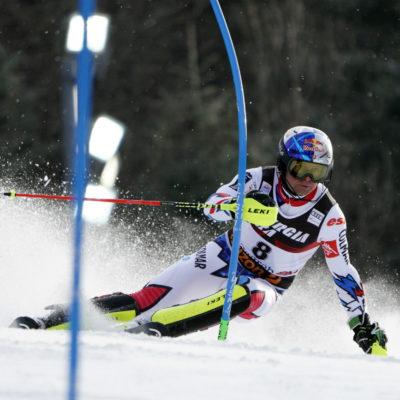 Lo sciatore Alexis Pinturault, partner Richard Mille, campione del mondo di superG