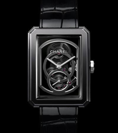 Novità Baselworld 2019: Chanel BOY·FRIEND scheletrato edizione nera
